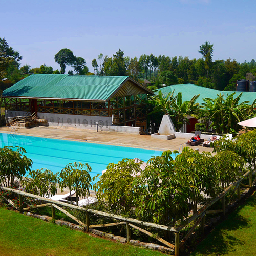 Interns in Kenya will stay at the amazing HATC, enjoying luxurious accommodations alongside professional runners from all over the world.