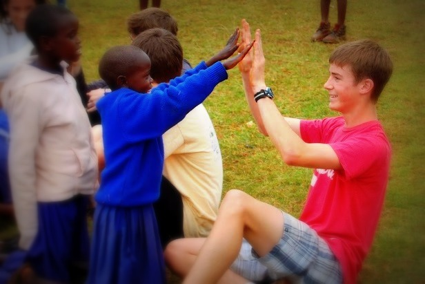 kenya high five