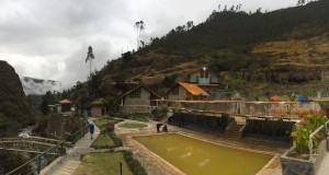 Enjoy a soak in the spectacular Lares Hot Springs!