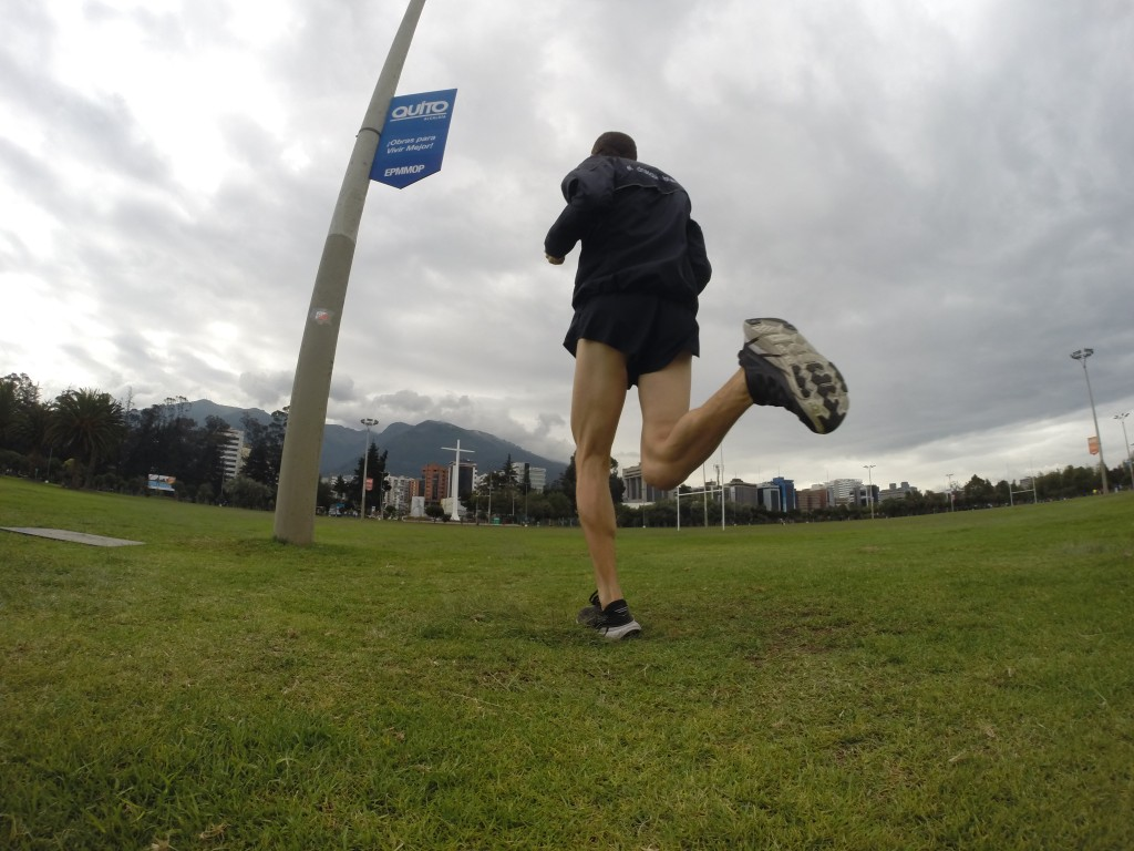 Running at 9,300 ft in Quito has become a staple of my training - a great place to let the mind and body find joy in motion.