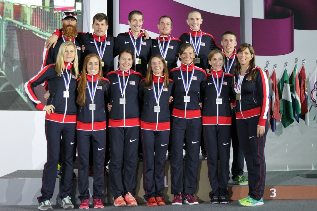 Individual silver and gold for the Team. A great race and a fantastic group of inspiring athletes.
