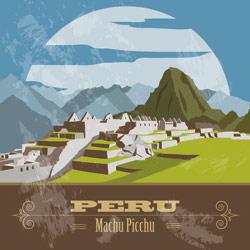 Peru-Retro-Stamp